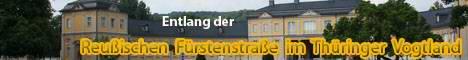 """""""Terra Advocatorum Thuringiae"""" bedeutet """"Thüringer Vogtland"""" und bezieht sich auf den Teil des Vogtlandes im Osten von Thüringen. Ich möchte auf dieser Website interessante Sehenswürdigkeiten entlang der Reußischen Fürstenstraße sowie in deren näherer Umgebung im Thüringer Vogtland vorstellen."""